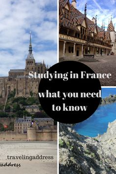 Studying in FRance: what you need to know. Etudier en France