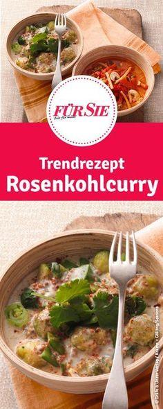 Trendrezept Rosenkohlcurry