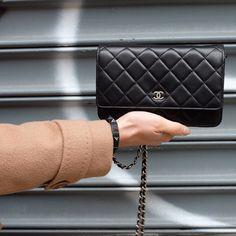 Chanel WOC wallet on chain lambskin