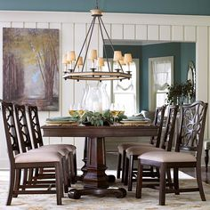 Moultrie Park 7 Piece Dining Set by Bassett