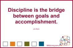 Make Discipline Your Bridge | Public Relations | BRG Living
