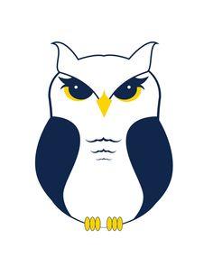 Owl Logo - Leadership Academy by Christina Baker, via Behance