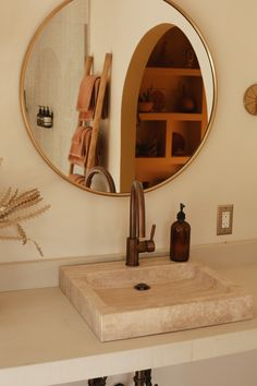 Oeste - Pretty Little Fawn Interior Exterior, Bathroom Interior Design, Outdoor Bathtub, Simple Bathroom, House Goals, Bathroom Inspiration, Tulum, Dream Rooms, Decoration
