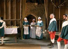 The Tudor Group - Haddon Hall 2008 Gallery. Late 16th century servants.