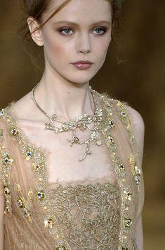 Frida Gustavsson | Chanel Spring 2010