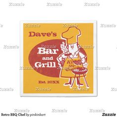 Retro BBQ Chef