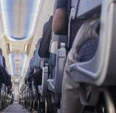 This secret button will give you more space on a plane