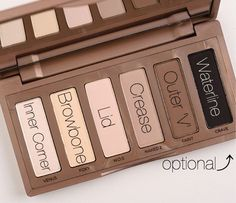 Naked Basics Pallet Everyday Simple Makeup Look: