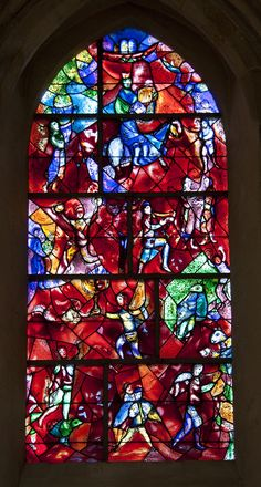 Chichester Cathedral - Chagall Window