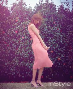 After School Uee - InStyle Magazine May Issue Purple Fashion, Asian Fashion, Kpop Girl Groups, Kpop Girls, Uee After School, Yu Jin, Brown Eyed Girls, Instyle Magazine, Korean Women