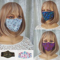 "15% off #covidmask #SALE. One week only. Only a few remaining. Normal shipping times to the USA. ""Comfortable, fits well, and the fabric pattern is lovely."" #covidmasksforsale #covidmasksafe #covidmasksbutfashion #covidmaskscanbecool #covidmasksdoneright #covidmaskslife #covidmasksmadewithlove #covidmasksvictoria #covidmasksaustralia #masks4all #masksforall #makemaskwearingfun #covid19vic #covidsafe #covidwise #maskson Steampunk Hat, Half Mask, Mask Shop, Steampunk Accessories, Masks For Sale, Fabric Patterns, Fabric Design, Layers, Victoria"