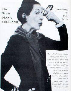 Diana #Vreeland.