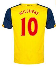 Best Online Find Arsenal Theo Walcott 14 Away Shirt Soccer Jersey - Yellow 6cd367e00