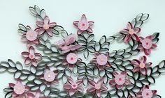 This was made with empty toilet paper rolls!