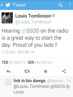 Awwwww :')>>> THEY WERE ON THE RADIO WHAT, *whispers* it's starting.