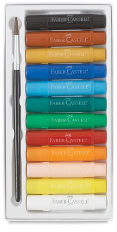 Faber-Castell Gelatos: Set of 12 Colors