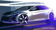 Honda Announces Two Concept Cars for Beijing, Previews Only One - Carscoops