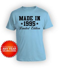 Made in 1980 T-Shirt Born 39th Year Birthday Age Present Vintage Funny Mens Gift