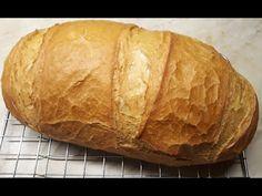 MARADJ OTTHON!!!! Házi fehér kenyér öregtésztával (kezdőknek!!!) - lépésről lépésre :) - YouTube Bread, Recipes, Youtube, Food, Brot, Recipies, Essen, Baking, Meals