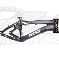 Yess 2016 BMX Race Frame-Black at J