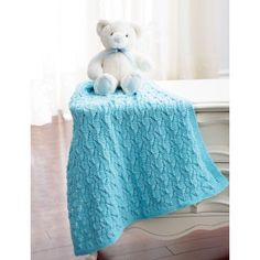 Free Easy Baby's Blanket Knit Pattern