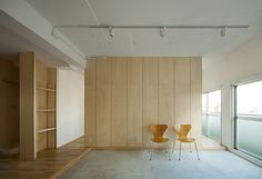 movedesign adapts shimoo ri apartment into flexible layout