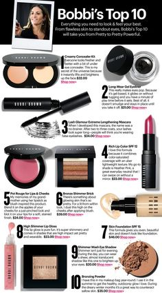 Bobbi Brown Makeup- great for every day and bridal. Even Kate Middleton wore Bobbi Brown on her big day.