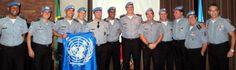 Polícia Militar do Rio realiza primeiro encontro de oficiais que atuaram em Missões de Paz da ONU    https://onubr.wordpress.com/2013/05/28/policia-militar-do-rio-realiza-primeiro-encontro-de-oficiais-que-atuaram-em-missoes-de-paz-da-onu/