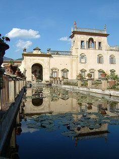 i lived here for 4 months... villa corsi salviati, sesto fiorentino italy