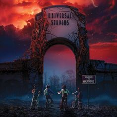Now's your chance to enter the Upside Down, #StrangerThings fans! Hawkins is officially heading to Universal Studios' Halloween Horror Nights!!!!