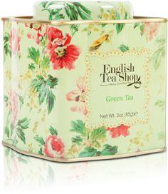 Green Tea Floral Loose Leaf Tea   English Tea Shop