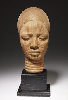 Ife terracotta of a woman