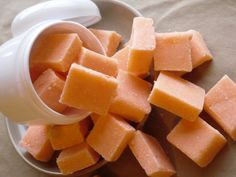 Sun Ripened Raspberry Sugar Scrub Soap Cubes by KoWicked on Etsy