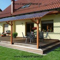 Pergola For Small Backyard Refferal: 7351999243 Patio Yard Ideas, Backyard Patio Designs, Pergola Designs, Backyard Landscaping, Patio Pergola, Wooden Pergola, Patio Roof, Pergola Kits, Metal Pergola