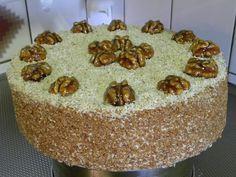 Walnotentaart Hongarije 26cm diameter. Een taart met bijzondere lekker smaak! 21st Birthday, Birthday Cake, Thermomix Bread, Bread Cake, Biscuits, Birthdays, Cookies, Desserts, Food