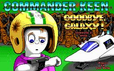 Commander Keen. I was completely obsessed with this computer game