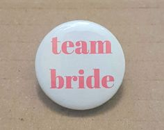 Bridal shower badge | Etsy