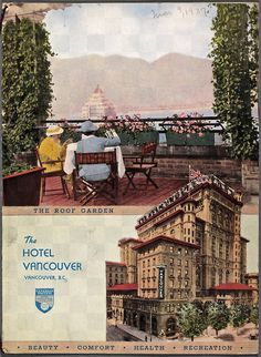 Hotel Vancouver Menu, Tuesday 9 March 1937 You can see what was for dinner that day here. Two years later, the current Hotel Vancouver opened for business and this old beauty was transformed into a barracks for soldiers for the duration of WWII. World Beautiful City, Vancouver Hotels, New West, History Facts, Vintage Advertisements, British Columbia, Soldiers, Vintage Photos, Wwii