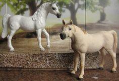 Repaint and cust Schleich Arabian mare by Schleichgirl1976.deviantart.com on @DeviantArt