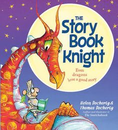 The Story Book Knight is Children's book about a young knight named Leo who loves to read than fight. Authors Thomas Docherty and Helen Docherty take Best Toddler Books, Best Children Books, Childrens Books, Giraffes Cant Dance, Reading Adventure, Bedtime Reading, Kindergarten Books, Reading Stories, Reading Books