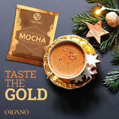 Your search for a delicious way to start you day, after dinner drink or mid-afternoon pick me up is over. Coffee Sachets, After Dinner Drinks, Mocha Coffee, Happy Coffee, Sour Taste, Coffee Benefits, Coffee Drinks, Healthy, Gold