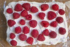 Homey, Seasonal, Super Easy No-Bake Raspberry Icebox Cake