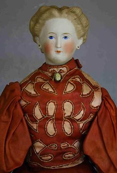 Antique Parian German Doll | eBay