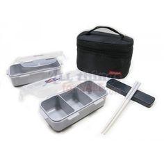 Microwavable Airtight Bento Lunch Box Set...