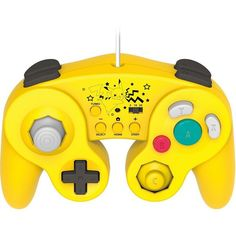 Pikachu Classic controller for Wii U. I want this!!!!