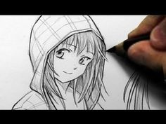 How To Draw Hoodies Over The Head  http://www.youtube.com/watch?v=0WGUinSR_Yo=related How To Draw Hoodies, Manga Drawing Tutorials, Manga Tutorial, Drawing Techniques, Art Tutorials, Manga Art, Anime Manga, Amazing Drawings, My Drawings