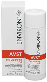 A gentle pre-cleanser that contains mainly vegetable derived oils. AVST Pre-Cleansing Oil assists in removing make-up, surface oils and accumulated environmental debris from the skin. The pre-cleanser also contains and effective emulsifier that assists in removing excess oil from the surface of the skin while leaving it feeling soft and hydrated. This product is lightly fragranced.