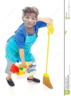 Louis the cleaning lady. If you watched 1D Day you know