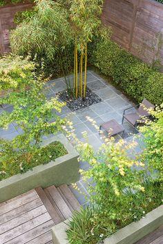Scott Lewis Landscape Architecture - Townhouse Garden - SLLA - San Francisco