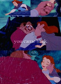 Behold, my favorite disney movie! You gotta love the emotion in this scene. <3